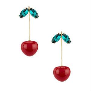 Kate Spade Ma Cherie Cherry Hanger Drop Earrings